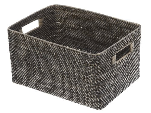 KOUBOO Rectangular Rattan Storage Antique product image