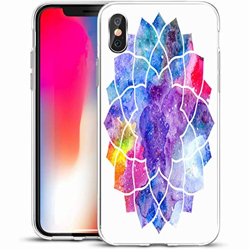 Shape Sacral (Ahawoso Custom Phone Case Cover for iPhone X/XS 5.8
