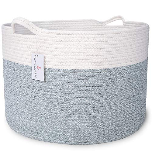 XXL Cotton Rope Blanket Basket 20