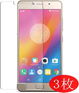【3 Pack】 Synvy Screen Protector for Lenovo P2 TPU Flexible HD Film Protective Protectors [Not Tempered Glass]