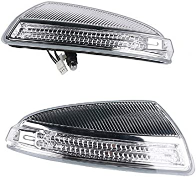 Genuine Mercedes Left /& Right Mirrors Turn Singnal Lamps A1649061300 A1649061400