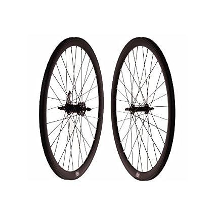 Set ruedas fixie contrapedal negro mate