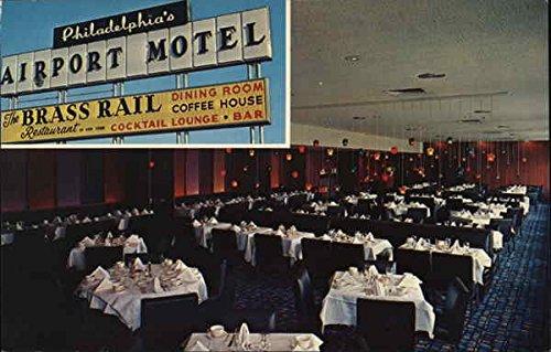 The Brass Rail of New York & Airport Motel Philadelphia, Pennsylvania Original Vintage - Airport Philadelphia Pennsylvania