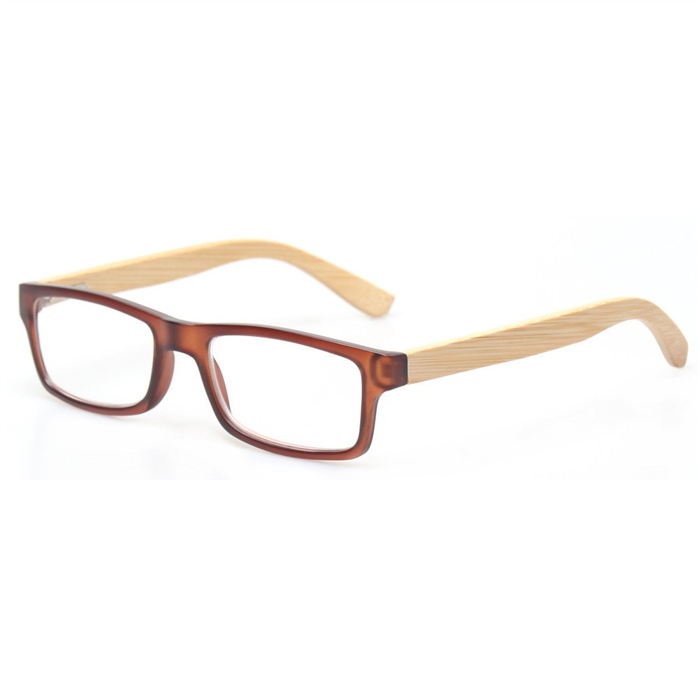 Reading Glasses Quality Unisex Readers With Sun Readers Bamboo Temples Eyeglasses