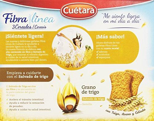 Fibra Línea 3 Cereales Fibra de Salvado de Trigo - 500 g: Amazon.es: Amazon Pantry