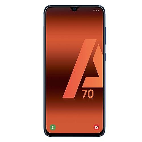 Samsung Galaxy A70 Smartphone 4G 6 7 128GO 6 GO RAM Bleu Version Espagnole