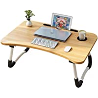 Laptop desk for bed lap desks bed trays for eating and laptops stand lap table adjustable computer tray for bed foldable…