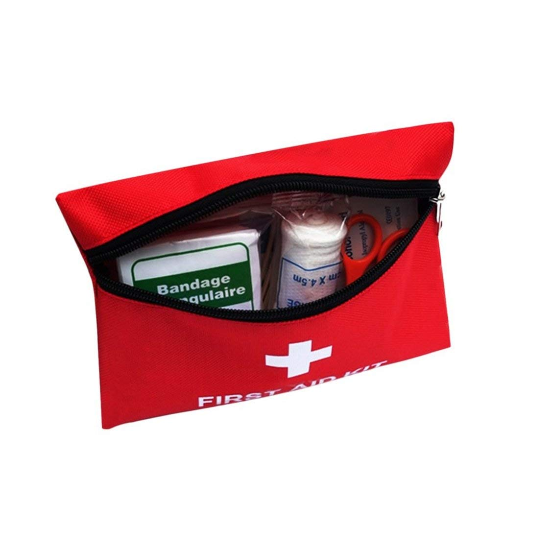 Fancysweety 13PCS//SET Emergency Survival Bag Outdoor Camping Travel Car First Aid Bag First Aid Medical Bag Survival Kit Set
