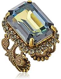 Petite Emerald-Cut Ring, Size 7-9