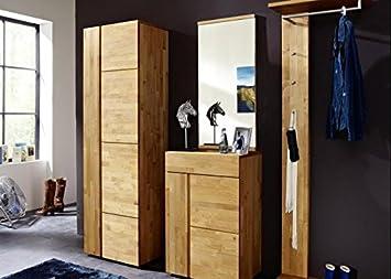 Garderobe Holz Massiv ~ Garderobenset kombi i princeline astor wohnideen erle massiv geölt