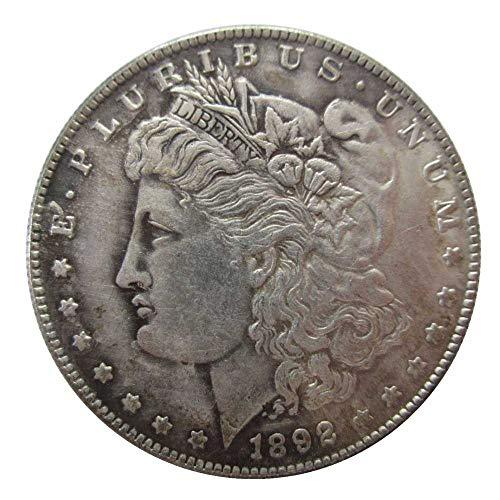 jooact 1892-CC USA Morgan Dollar Coins Copy for Keychain Pendant & Home Decor