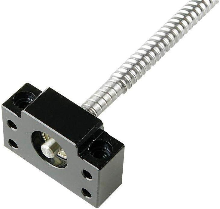 1204 Kugelmutter und BK // BF12 End Support Size : 400mm Geeignet for CNC 3D-Druck Gravur Maschinenzubeh/ör Kuppler TCYLZ SFU1204 gesetzt SFU1204 Kugelgewinde C7