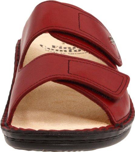 Finn Comfort Mujeres Jamaika Sandal Sangria Red Soft