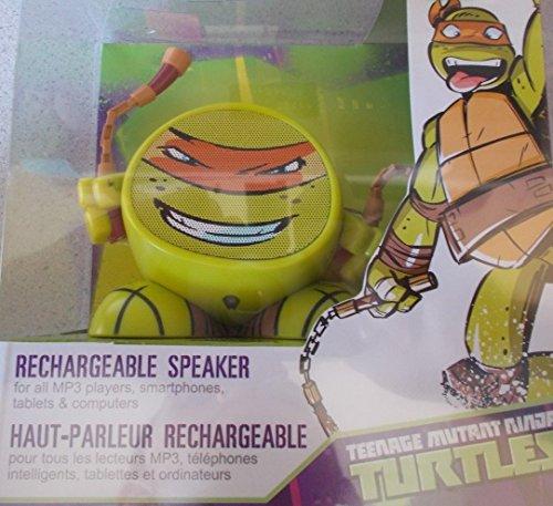 Price comparison product image Nickelodeon iHome Rechargeable Speaker Teenage Mutant Ninja Turtles (Michaelangel)