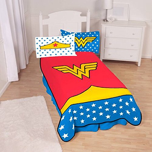 Wonder Woman Full Size Plush Throw Blanket - 62 in. x 90 in.