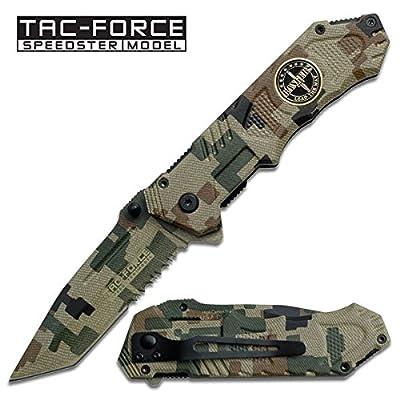 Couteau de poche Pliant Tac-Force U.S RANGERS # TF-458RG