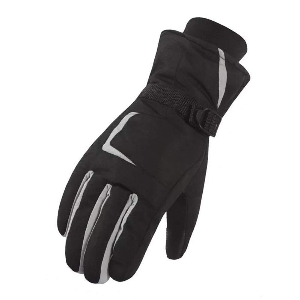Handschuhe - Outdoor Handschuhe Winter Ski Männer und Frauen Warm und Winddicht Wasserdicht Dicker Baumwolle Winter Motorradfahren Touchscreen Fahren Rutschfeste Handschuhe warm