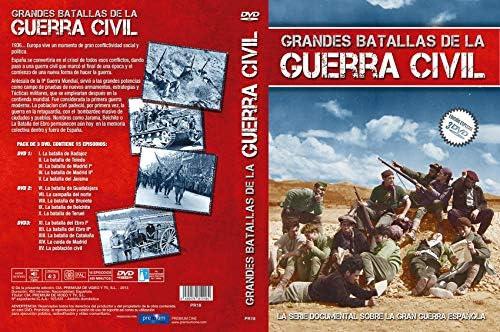 Grandes Batallas de la Guerra Civil Española (3 DVDs): Amazon.es ...