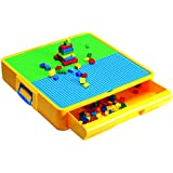 Block Builders Construction Site with Storage Drawer Case (Included) Activity Chest