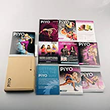 Chalene Johnson's PiYo Base Kit - 3DVD Workout with Exercise Videos + Fitness Tools and Nutrition Guide