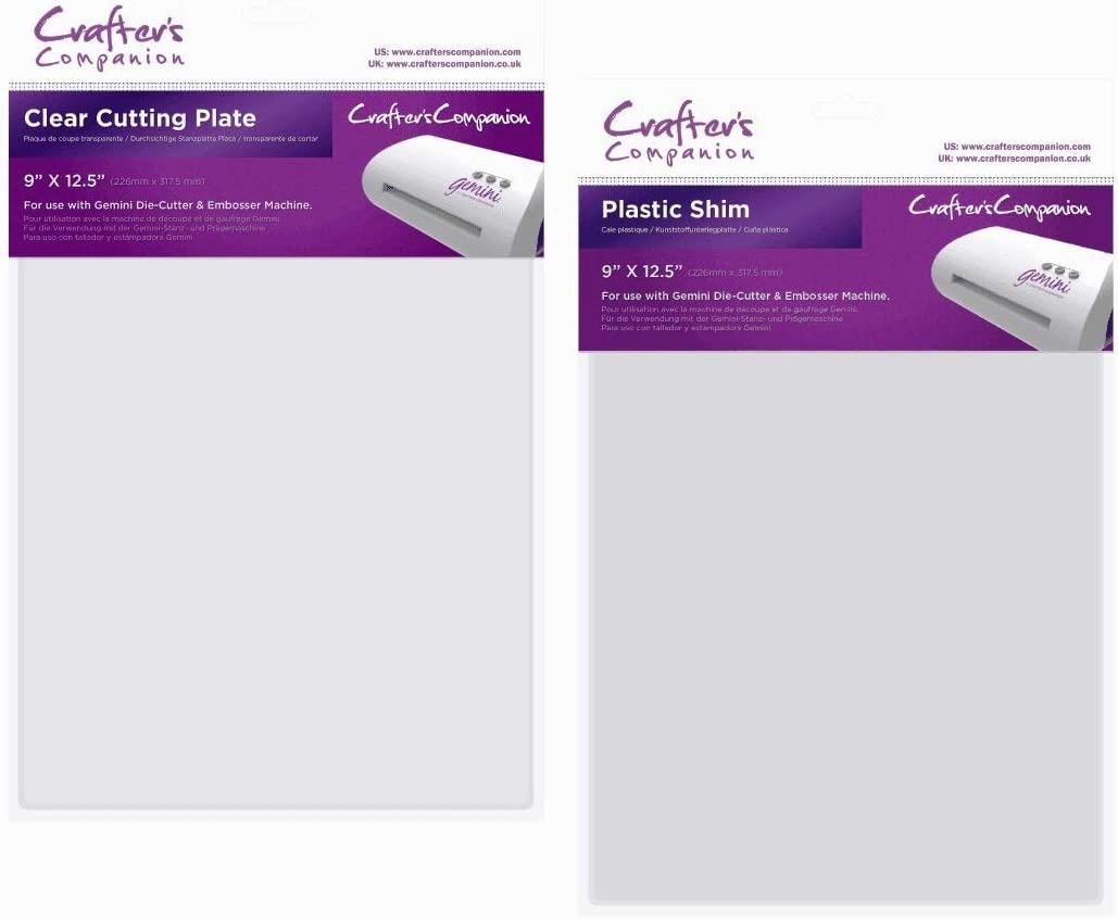 Shim Cutting Plate Crafter/'s Companion Gemini Accessories Embossing Mat