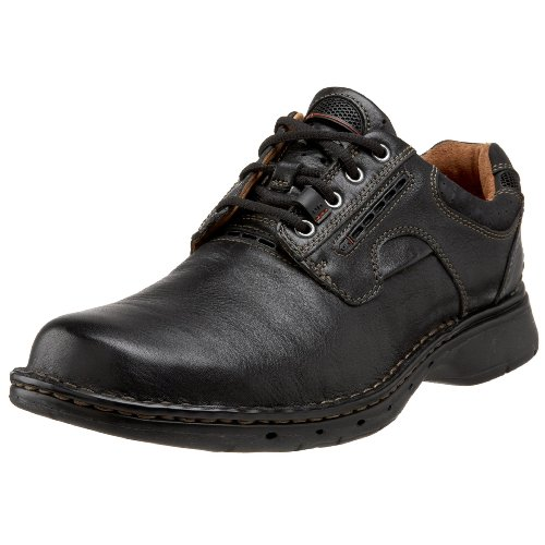 CLARKS Men's Un.ravel, Black, 8.5 D - Medium