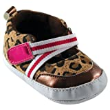 Girl Colorful Print Shoe, Leopard, 6-12 months