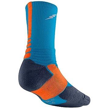 new concept ffce6 af83f Nike Crew Chaussettes Hyper Elite Basketball XL Mehrfarbig: Amazon ...