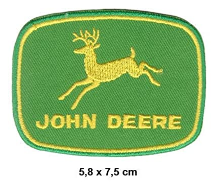 Amazon John Deere Embroidered Sew Iron On Patch Arts Crafts
