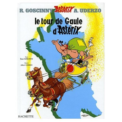 Le Tour de Gaule d'Asterix (French Language Edition of Asterix and the Banquet)