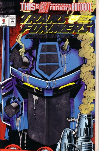 Cover Enhanced Foil - Transformers: Generation 2 #1