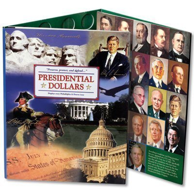 Littleton Coin Lcf36 Presidential Small Dollar Folder by Littleton Coin