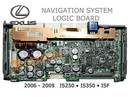 lexus is250 navigation repair