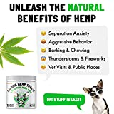 Calming Hemp Treats For Dogs - Made in USA with