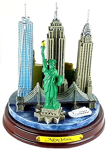 New York 3-D Model 4 1/2 High, New York Souvenirs, New York City Souvenirs, NYC Souvenirs by Zizo