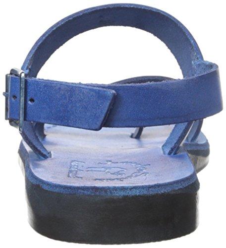 Jérusalem Sandales Mens Carmel Orteil Sandale Bleu