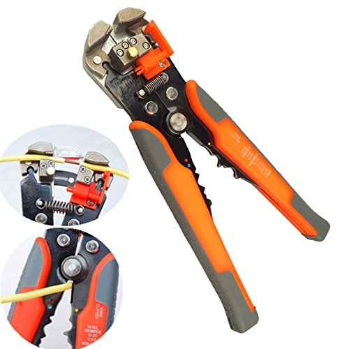 Agile-shop Professional Multifunction Automatic Wire Cutter Stripper Crimper Pliers Terminal Tool by Agile-shop (Image #1)
