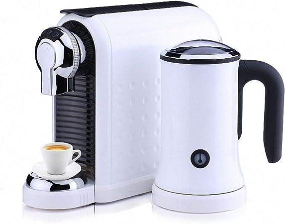 Cafetera de cápsulas, Cafeteras para espresso y capuchino, cafetera electrica Capuchino y Espresso, Evaporador de Leche para Home Office: Amazon.es: Hogar