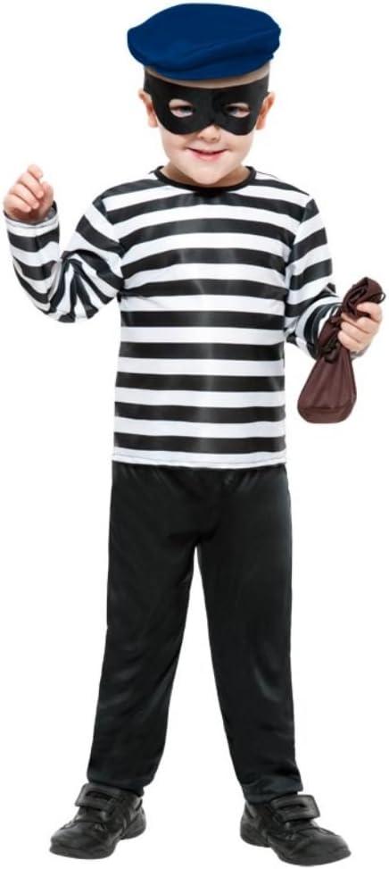 Smiffys - Disfraz de ladrón para niño, talla L (10-12 años ...