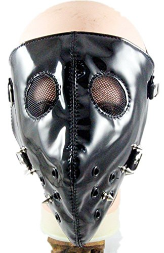 Qiu ping Men and women personalized spike punk rock fashion mask show mask by Qiu ping