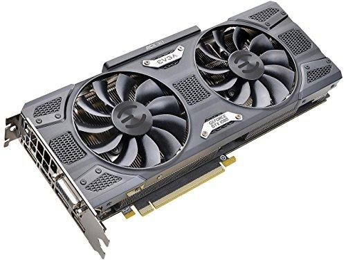 EVGA GeForce GTX 1080 DirectX 12 08G-P4-5186-KR 8GB 256-Bit GDDR5X PCI Express 3.0 HDCP Ready SLI Support Video Card