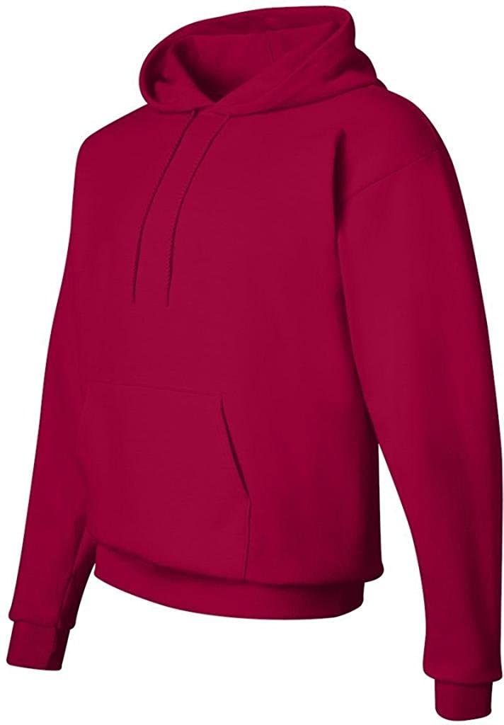 Hanes Youth ComfortBlend EcoSmart Pullover Hoodie, Deep Red, Size-S P473