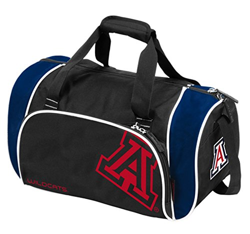 NCAA Arizona Locker Duffel, One Size, Multicolor by Logo Brands