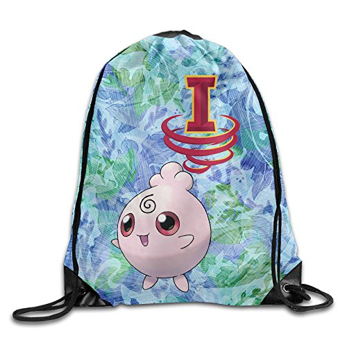 [PKTWO Cinch Pack Iowa State University Jigglypuff Camping Drawstring Bag] (Cyclone Mascot Costumes)