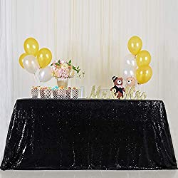 Seamless Shiny Sequin Wedding Tablecloth