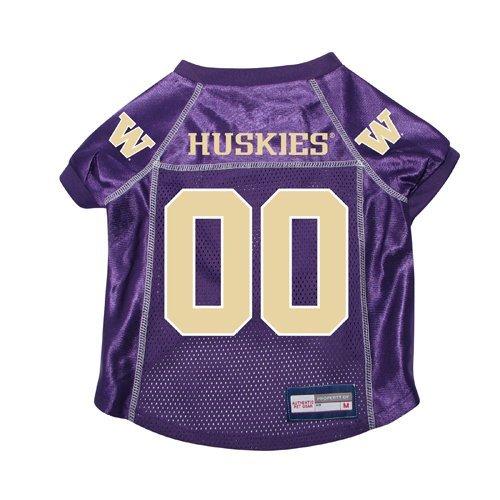 finest selection 89d96 1a1e7 Washington Huskies Premium NCAA Pet Dog Jersey w/ Name Tag ...
