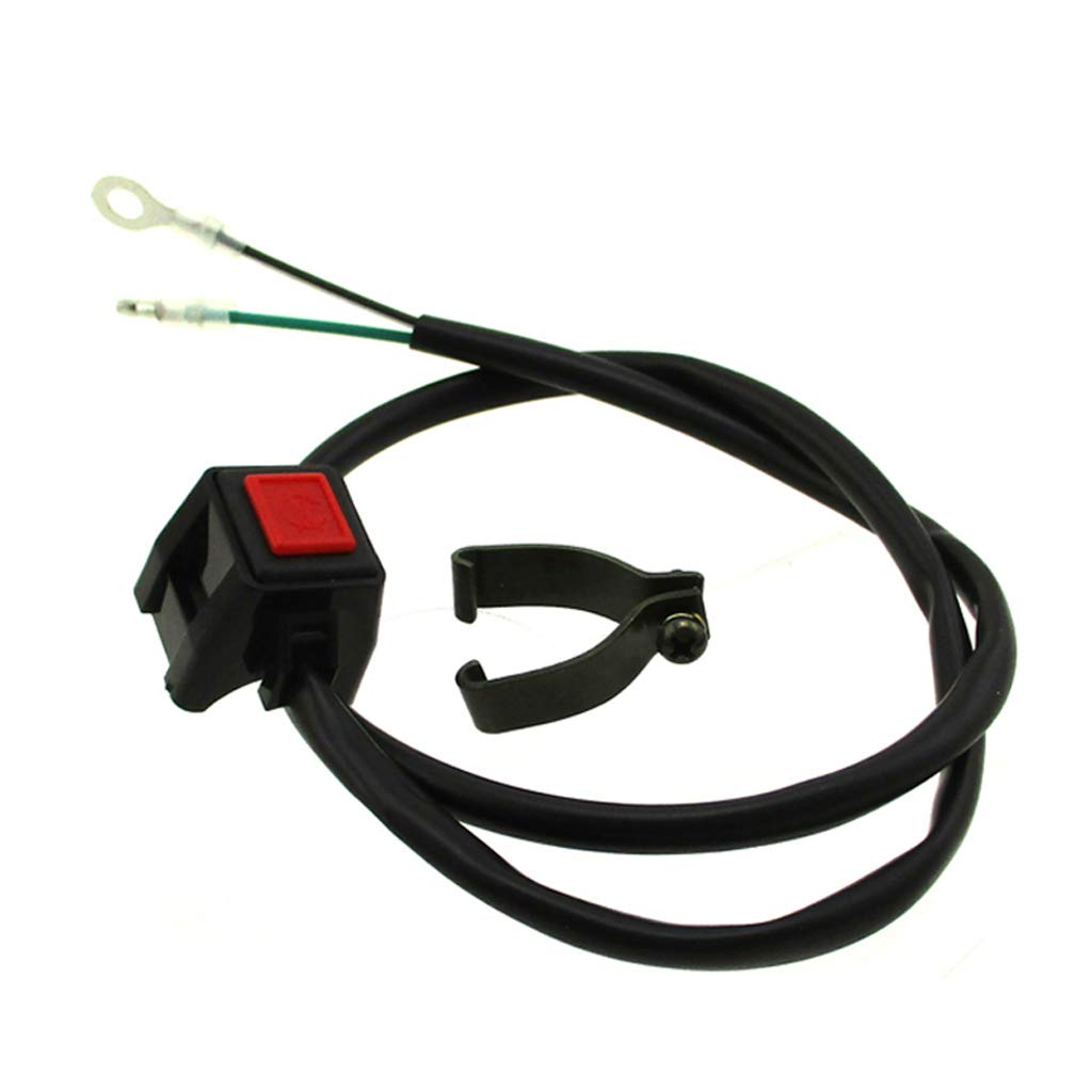 Race-Guy 7//8 22mm Handle Stop Kill Switch for Yamaha Suzuki Kawasaki Honda KTM Pit Dirt Motor Bike Motorcycle ATV Quad 4 Wheeler