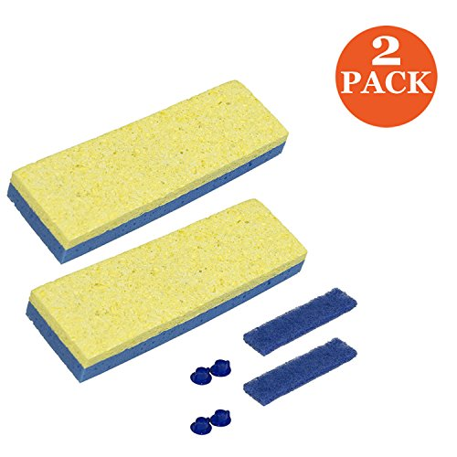 Sponge Mop Replacement Head (Quickie Sponge Mop Refill 3