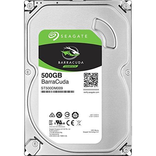 Seagate 500GB BarraCuda SATA 6Gb/s 32MB Cache 3.5-Inch Internal Hard Drive (ST500DM009) (Seagate 500 Barracuda Sata Gb)