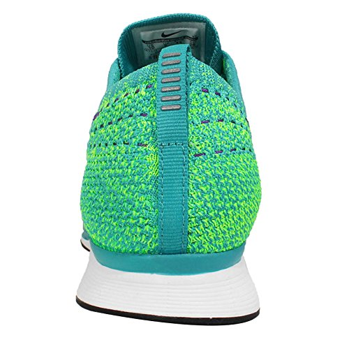 Nike Flyknit Racer Sport Turkos Hyper Druva Volt Löpartröja Sneakers 15 Oss